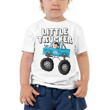 Little Trucker Blue Monster Truck Toddler Short Sleeve T-Shirt - Hot ... Kids Rap Attack Monster Truck Tshirt Thrdown Amazoncom Monster Truck Tshirt For Men And Boys Clothing T Shirt Divernte Uomo Maglietta Con Stampa Ironica Super Leroy The Savage Official The Website Of Cleetus Grave Digger Dennis Anderson 20th Anniversary Birthday Boy Vintage Bday Boys Fire Shirt Hoodie Tshirts Unique Apparel Teespring 50th Baja 1000 Off Road Evolution 3d Printed Tshirt Hoodie Sntm160402 Monkstars Inc Graphic Toy Trucks American Bald Eagle