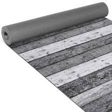 küchenläufer wood industry holz grau breite 65cm bodenteppich