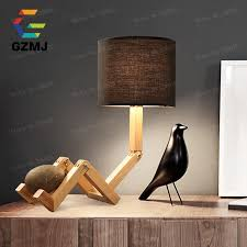 DIY Adjustable LED Table Lamp White Black Bedside Reading Study Foldable Desk Light For Student Dorm Room American Country Style In Lamps From Lights