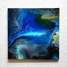 original resin kunst harz gemälde abstrakte malerei bild