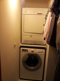 chambre comment superposer machine a laver et seche linge kit de