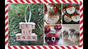 Christmas Tree Decorations Ideas Youtube by Diy Holiday U0026 Christmas Ornaments Ideas Youtube