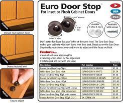 Drill In Cabinet Door Bumper Pads by Euro Door Stop Fastcap Woodworking Tools