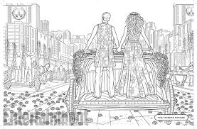 See Pages From The World Of Hunger Games Official Coloring Book