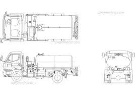 100 Free Truck Tank DWG Free CAD Blocks Download