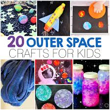 20 Outer Space Crafts For Kids I Heart Arts N Simpleminimalist