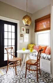 Space Saving Interior Design Ideas Kitchen Nook With Window Seat And Dining Chairs For Small Spaces