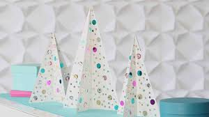 Video Sequined Christmas Trees