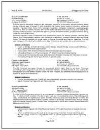 Social Service Resume Template Templates Work Worker Curriculum Vitae Examples