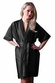 robe de chambre satin homme peignoir kimono femme en satin topiwall