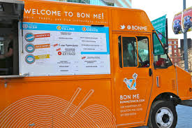 100 Food Trucks Boston Ma Meet Your Ker Bon Me Orange Truck A Little Bit About A Lot Of