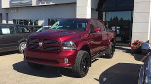2017 Red Pearl Ram 1500 Sport With A 4