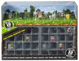 Minecraft Bedding Target by Amazon Com Minecraft Mini Figure Collector Case With 10 Mini