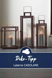 laternen casolare deko für wohnzimmer kerzenlicht deko