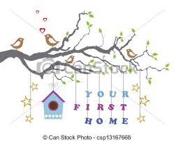 Your First Home Greeting Card
