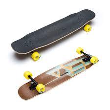 100 Wide Longboard Trucks Loaded Tesseract Skateboard