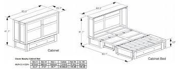 Murphy Bed Cabinet Specifications SmartSpaces