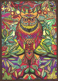 Johanna Basfords Wonderful Secret Gardens Coloring Book For Adults Is My New Funtime Passion Heres First Finished