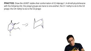 Cyclohexane Chair Conformation Flip by Draw The Least Stable Chair Conformation Of 2 Clutch Prep