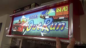 Arcade Marquee Lightbox Out Run Bubble Bobble Nintendo