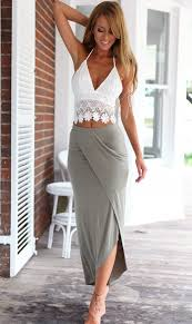 fashion trends suitable halter top dresses expose beautiful