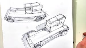 100 Tucker Truck Parts Heres A Modern Concept Sketched On Colored Paper