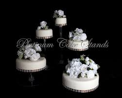 New Ideas Tiered Cake Stands For Wedding Cakes With Tier Cascade Stand Style