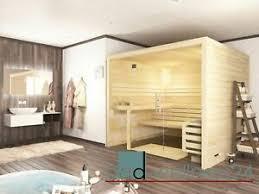 details zu sauna glasfront massivholz 45 mm 220 x 220 x 200 cm glas aktion