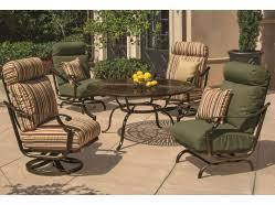 Gensun Patio Furniture Cushions by Cast Aluminum Patio Furniture Rocky Mountain Patio