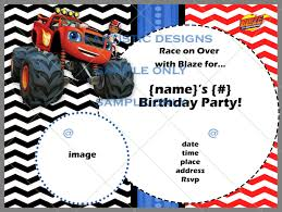 Birthday ~ Monster Jam 3D Invitations | Birthdayexpress Monster ... Mr Vs 3rd Monster Truck Birthday Party Part Ii The Fun And Cake Monster Truck Food Labels Mrruck_party_invitions_mplatesjpg Unique Free Printable Grave Digger Invitations Gallery Marvelous Ideas At In A Box Cool Blue Card Truck Birthday Blaze The Machine Invitation On Design Of Jam Ticket Style Personalized 599 Sophisticated Photo Christmas Card