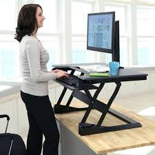 Multiple Monitor Standing Desk by Electric Sit Stand Workstation Medium Size Of Stand Workstation