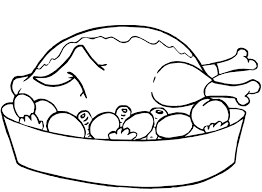 Chicken Food Clipart Black And White