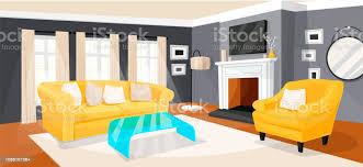 wohnzimmer modern homepage design und interieur stock vektor und mehr bilder architektur