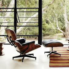 Eames Lounge Chair & Ottoman Reproduction Style Black Rosewood Italian  Leather Eames Lounge Chair Ottoman Replica Aptdeco Black Leather 4 Star And 300 Herman Miller Is It Any Good Fniture Modern And Comfort Style Pu Walnut Wood 670 Vitra Replica Diiiz Details About Palisander Reproduction Set