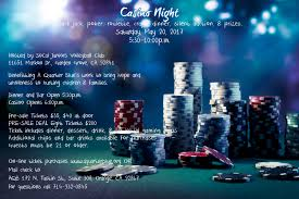 A Quarter Blue  Casino Night Fundraiser – Saturday May 20th 2017