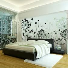 Impressive Black And White Wall Covering Ideas For Bedroom Space