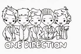 Coloring Pages One Direction Free And Printable Harry Styles