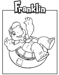 Frais Dessin A Imprimer Franklin Gratuit Mademoiselleosakicom