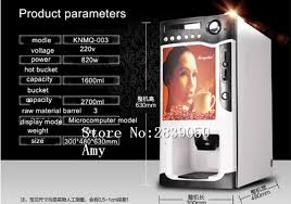 Commercial Coffee Vending Machine Price Capsule Making Detail