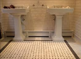 white subway tile in bathroom new basement and tile