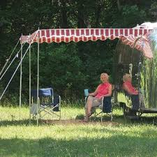 Vintage Trailer Supply Premium Pole Rope Awnings