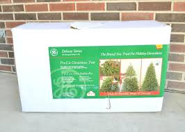 Pre Lit Noble Fir Christmas Tree 8 Snowy Layered Superior Flocked
