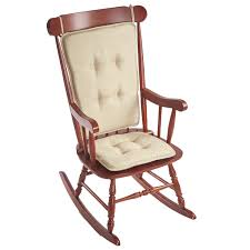 Embrace 2 Piece Gripper Rocking Chair Cushion Set Greendale Home Fashions Cream Hyatt Jumbo Rocking Chair Cushion Set Vintage Sgarsul Rocking Chair For Poltronova In Leather And Curved Massive Wood Custom Redwood Rockers Peglev Rocker Pad Pads And Cushions Jefferson Cherry Colour Tyson Chairs Patio The Depot Hutchcraft Slat