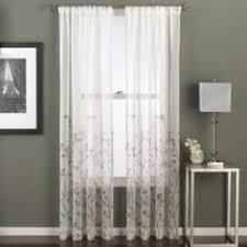 home shari lace rod pocket sheer panel rod pocket curtains rod