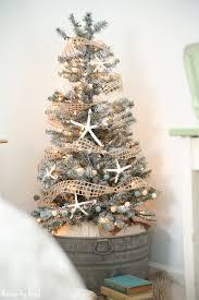 Flocked Christmas Tree Walmart by Diy Flocked Christmas Tree House By Hoff