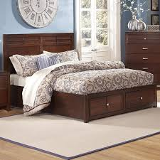 New Classic Kensington Queen Low Profile Bed with Storage
