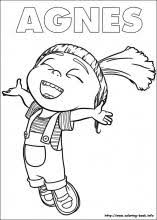 Bold Design Coloring Pages Minions 16 On Book Info