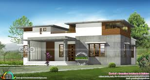 100 Contemporary Home Designs 1550 Sqft 3 Bedroom Flat Roof Contemporary Home Kerala