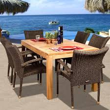 Amazonia Teak Brussels 6-Person Resin Wicker Patio Dining Set With Stacking  Chairs Rhino White Slatted Resin Fan Back Folding Chair 100 Virgin Resistant To Warping Fading High Plastic Patio Ideas Malta Outdoor Wicker Ding With Cushion By Christopher Knight Home Set Of 2 Highback Stacking Chairs Resin Patio Chair Labtimeco The Depot Luxury Fniture Highquality Kettler Lawn 16 Position Rimini Mulposition Arm Top Brands