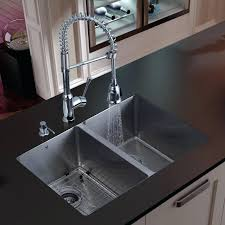 stainless steel sinks kitchen farmhouse sink faucets single lowes